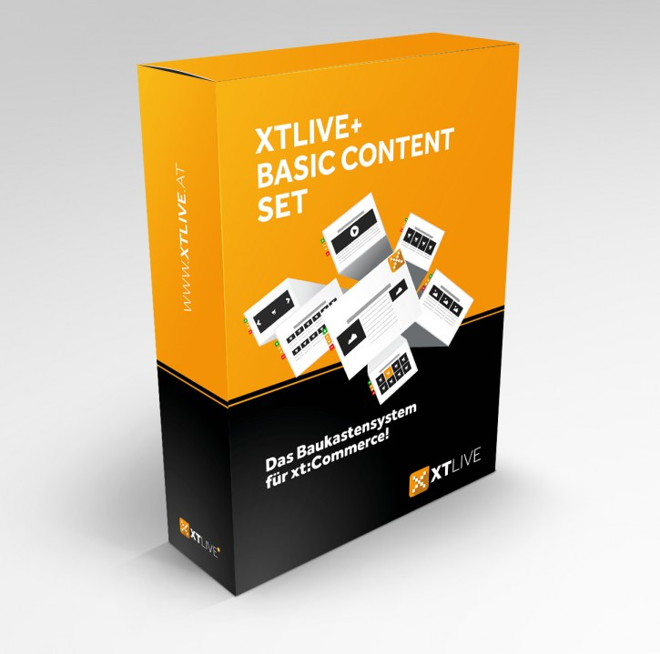 XTLIVE Basic xt:Commerce 5 / ohne Installationsservice
