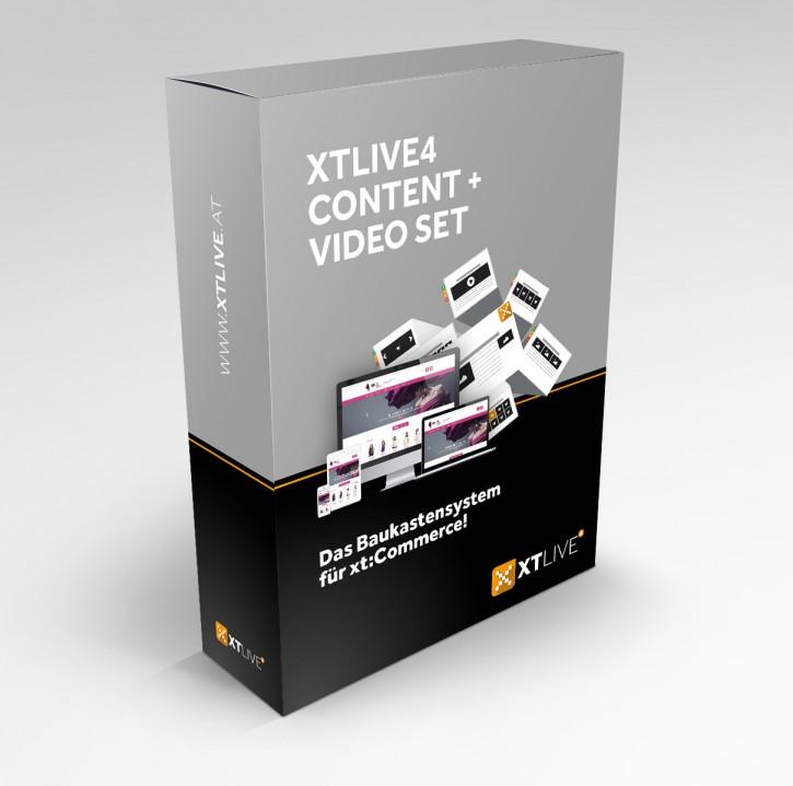 XTLIVE 4 Content + Video Set