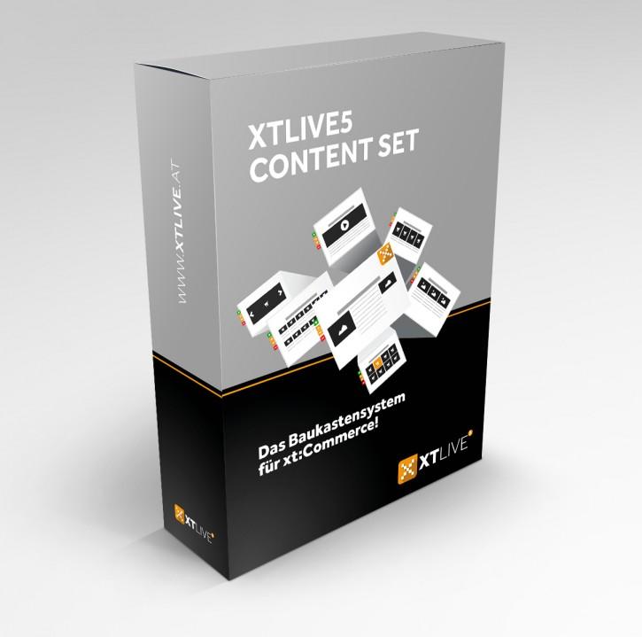 XTLIVE5 Content Set